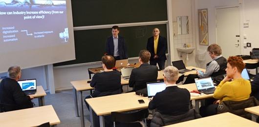 Workshop om cybersäkerhet